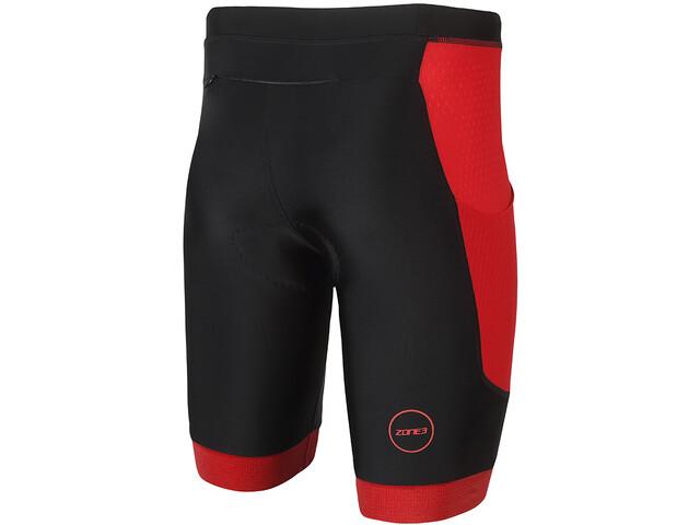 Italiaanse Zwembroek Heren.Zone3 Aquaflo Plus Zwembroek Heren Rood Zwart I Online Op Bikester Be